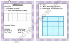 Common Core 3rd Grade Math Game - Multiplication Properties