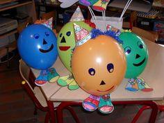 * Ballonnen mannetjes-vrouwtjes...