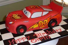 3D Lightning McQueen (side view)