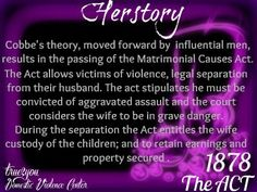 1878 the Act #true2youherstory
