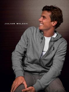 Julian Wilson, is it possible for someone to be so attractive?