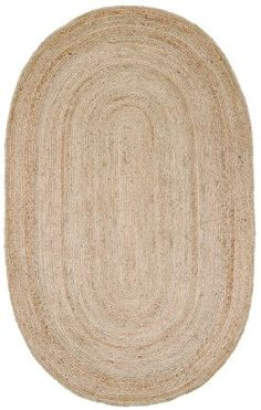 Designer rugs at 60% off! Rugs USA Maui Jute Braided Natural Rug