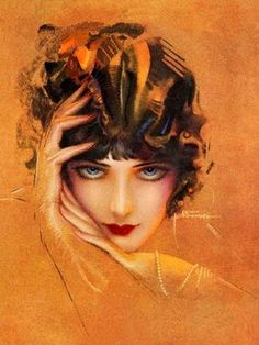 Rolf Armstrong was one of the best pin-up artists of the beginning of the twentieth century. He was very prolific and popular during his lifetime, his work appeared on the covers of many magazines....