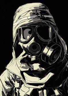 Gas Mask conceptart steampunk by DeAngelis Graffiti Wallpaper, Graffiti Art, Gas Mask Drawing, Steampunk Gas Mask, Steampunk Wallpaper, Gas Mask Girl, Templer, Dope Wallpapers, Masks Art