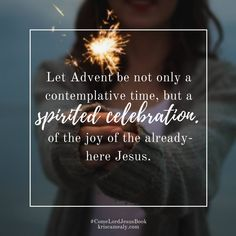 Advent is just aroun