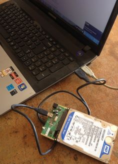 Hard Disk Repair at Home - Website - Connect hard disk as external - Learn Computer Coding, Computer Diy, Computer Projects, Computer Basics, Computer Repair, Computer Technology, Computer Engineering, Medical Technology, Energy Technology