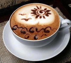 Il y a toujours du soleil .. dans un café ! Alors ...?! ... ça va mieux ...