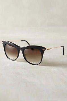 1b21b95cbbdd6 Elizabeth and James Fairfax Sunglasses Black One Size Eyewear