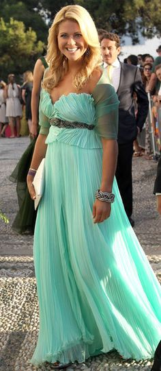 Princess Madeleine of Sweden in a quite lovely dress