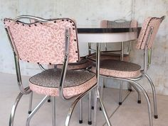 how to restore a retro kitchen table sets chrome u2014 modern kitchen - Modern Kitchen Tables