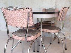 How to Restore a Retro Kitchen Table Sets Chrome — Modern Kitchen ...