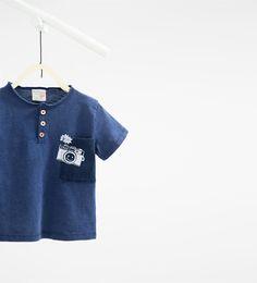 - View all-T-SHIRTS-BABY BOY | 3 months-3 years-KIDS | ZARA United States
