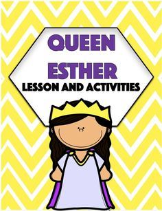 Queen Esther Bible, Esther Bible Study, Book Of Esther, Bible Lessons For Kids, Bible For Kids, Story Of Esther, Christian Missionary, Sunday School Lessons, School Songs