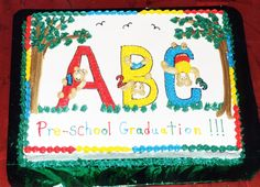 ABC Cake by Sweet Encounters