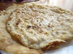 Gluten free, dairy free, egg free tortillas