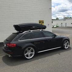 Show Me Your Box - the Roof Mounted Cargo Box Thread - Page 46 Car Roof Storage, Car Roof Box, Audi A6 Avant, A4 Avant, Audi A4 Black, Mercedes E55 Amg, Custom Vw Bug, Allroad Audi, Audi Wagon