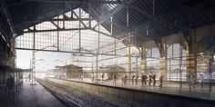 CGarchitect - Professional 3D Architectural Visualization User Community | Railway station