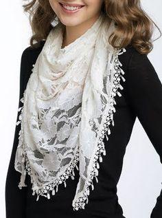 Lace scarves rock