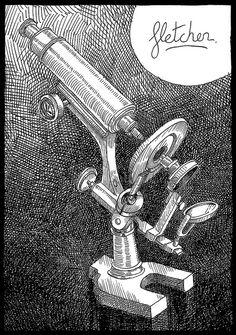 Microscopio - Abbott by fletcher, via Flickr.