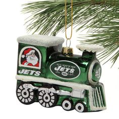 New York Jets Train Ornament - Fanatics.com
