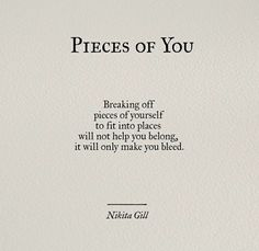 Pieces of u von Nikita Gill Poem Quotes, Quotable Quotes, Words Quotes, Motivational Quotes, Life Quotes, Inspirational Quotes, Sayings, Star Quotes, The Words