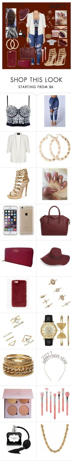 """""""Untitled #144"""" by ayannalovebug ❤ liked on Polyvore featuring River Island, Prada, Speck, Givenchy, Kate Spade, Halogen, Missguided, Forever 21, Folio and Wet Seal"""