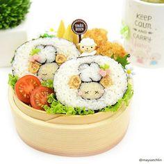 maysatch @maysatch Sheep deco sushi ...Instagram photo | Websta (Webstagram)
