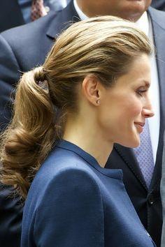 Crown Prince Felipe and Crown Princess Letizia visited the traditional 'Residencia de Estudiantes' in Madrid June 11, 2014