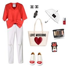 """""""#4"""" by viktoriua-malushina on Polyvore featuring мода, Rebecca Minkoff, Charlotte Olympia, Moschino, Love Moschino, Michael Kors, Forever 21, Kate Spade, Chanel и Christian Dior"""