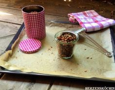 geröstete Ölsaaten mit Zimt