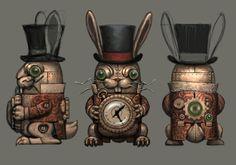 Alice: Madness Returns Clone Mechanical White Rabbit