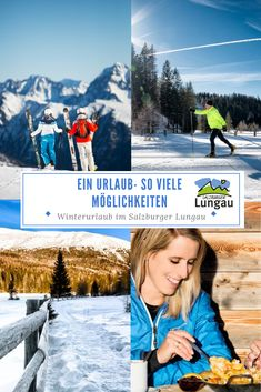 Ein Urlaub - so viele Möglichkeiten Salzburg's Lungau region boasts three ski areas in an area with 300 snow-sure pistes, which can be reached quickly and easily with the free ski bus. Ski Touring, Winter Hiking, Cross Country, Winter Holidays, Skiing, Ski Resorts, Tours, Romantic, Snow