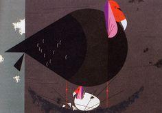 California Condor illustration by Charley Harper |