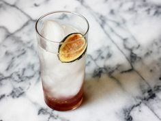 Figs and balsamic vinegar are a classic pairing, and make a remarkably delicious soda.