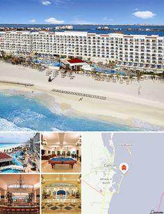 Le complexe est niché au cœur de la célèbre zone hôtelière de Cancún, au bord de la plus belle plage de la ville, à 15 min du centre-ville et à 20 min de l'aéroport international de Cancún. Il se trouve également à proximité des meilleurs centres commerciaux, restaurants et établissements nocturnes de la ville.