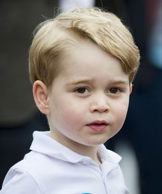 Prince George 3rd Birthday Portrait Photos   The 3-year-old rocks a whale sweater in the adorable photos taken at home in Norfolk. #refinery29 http://www.refinery29.com/2016/07/117587/prince-george-third-birthday-photos