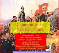 Communism in Modern China Lecture Power Point Presentation World History Lessons, Teaching History, Teaching Critical Thinking, Cornell Notes, High School Activities, Notes Template, Project Based Learning, China, Communism