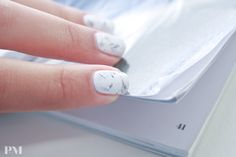 Marble nails are the next big thing!