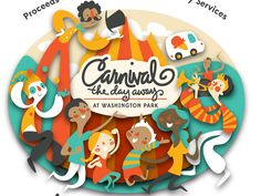 Dribbble - Carnival The Day Away Logo by Erin Barker