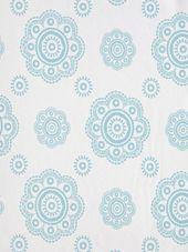 Room Seven Wallpaper Suzani 2200701 Motifs Textiles, Travel Memories, Safari, Decorative Plates, Quilts, Wallpaper, Room, Home Decor, Aqua
