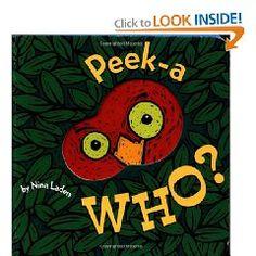 Peek-A Who? [Board book], (baby book, board book, toddler book, peek-a-boo, childrens books, rhymes, favorite, book, kids, childrens classics)