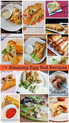 My mom makes the most amazing egg rolls. Seriously, she does. If my mom ever wants us to come visit, all she has to do is offer to make my husband egg rolls and he hops right in the car. They are hands down one of my husband's favorite foods, no one else's egg rolls …