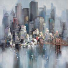 """Wilfred Lang """"Brooklyn Bridge"""""""