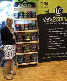 K9sOverCoffee | Loving The Product Selection at Vital Essentials Booth At The Global Pet Expo 2016