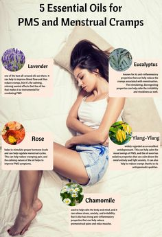 5 Essential Oils for PMS and Menstrual Cramps - Organic Aromas