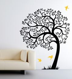 Love this gorgeous tree wall decal from Cherry Walls. So many other great options to choose from, too!