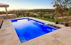 Vice President Fibreglass Pool - Swimming Pool WA - Freedom Pools And Spas Above Ground Fiberglass Pools, Fiberglass Swimming Pools, Cool Swimming Pools, Best Swimming, Lap Pools, Backyard Pool Designs, Pool Landscaping, Pool Images, Family Pool