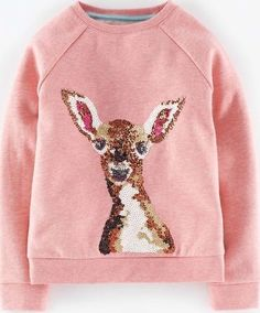 Mini Boden Woodland Animal Sweatshirt Blush Deer Mini Choose from a charming Robin logo or a printed woodland theme on our cotton-rich sweatshirting. With our new casual raglan sleeves, this is effortlessly playful and pretty, as well as being brushed on http://www.comparestoreprices.co.uk/kids-clothes--girls/mini-boden-woodland-animal-sweatshirt-blush-deer-mini.asp
