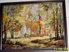 In the forest tapestry Folk Art, Tapestry, Painting, Hanging Tapestry, Tapestries, Popular Art, Painting Art, Paintings, Paint