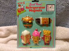 Vintage set of Junk Food Design by RobandJensOddsnEnds on Etsy